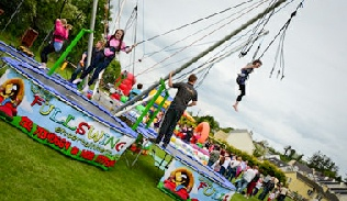 Bungee trampoline hire Donegal