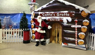Christmas grotto and decoration hire Donegal