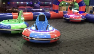 Spinning bumper car hire Donegal